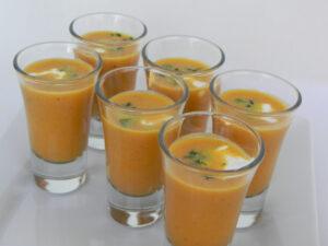 Pumpkin Soup Shooters