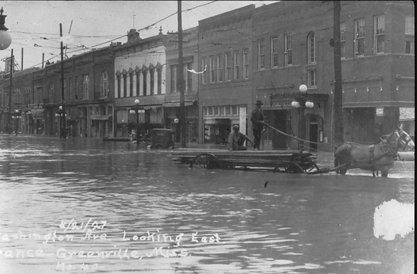 mississippi pond deluge in 1927 essay