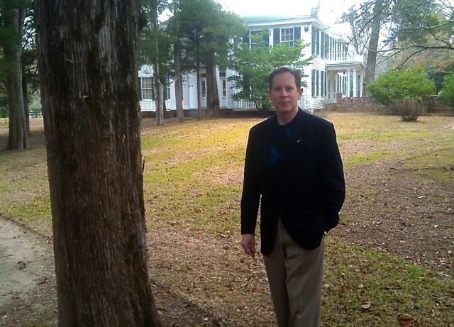 Author Jack Sacco at Rowan Oak –– Photo By Bob Sawyer