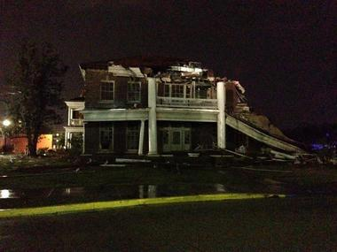 Violent Tornado Strikes USM, South Mississippi on Sunday ...