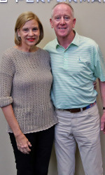 Olivia and Archie Manning (photo by Joshua McCoy)