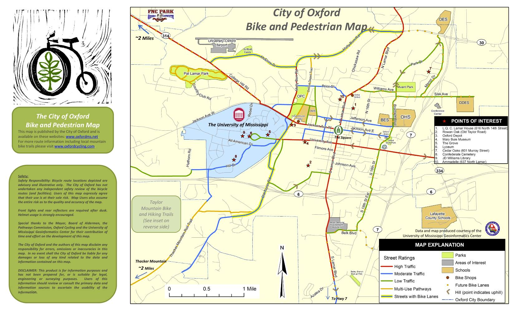 Bike Oxford Ms The Oxford Depot Trail and the