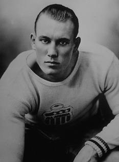 """Frank Bruiser"" in '37 - By J. R. Cofield (c) Ole Miss Athletics"