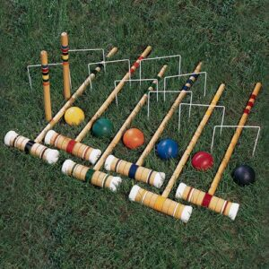 Anyone up for a game of croquet?