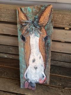 Katrina Hill's 'Mizippihippi' folk art