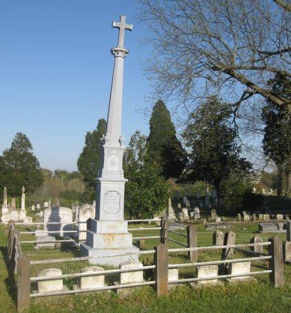 Graveyard In Holly Springs, Miss.