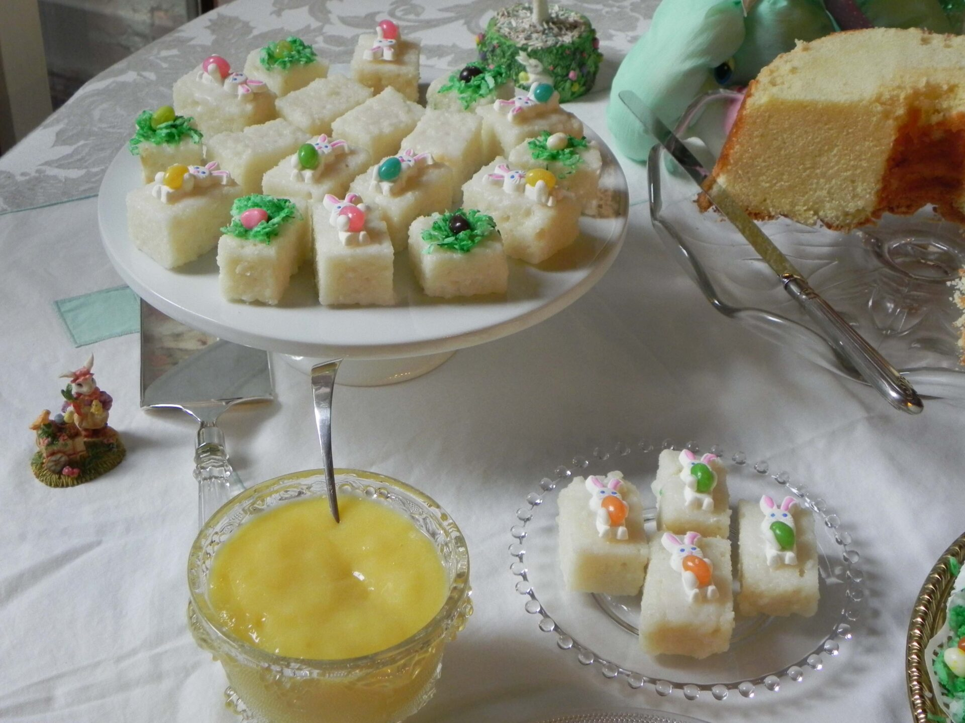 Cake Recipe Jelly Beans: On Cooking Southern: Jelly Beans, Cake, And Petit Fours