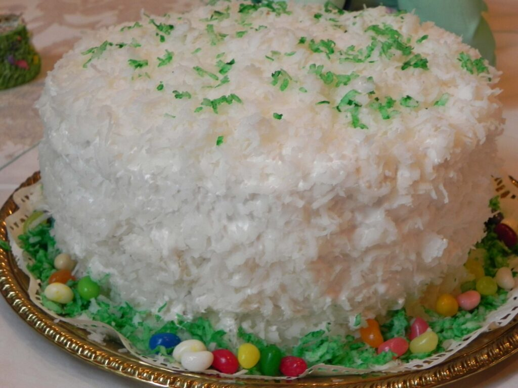 Country Women Coconut Cake Us