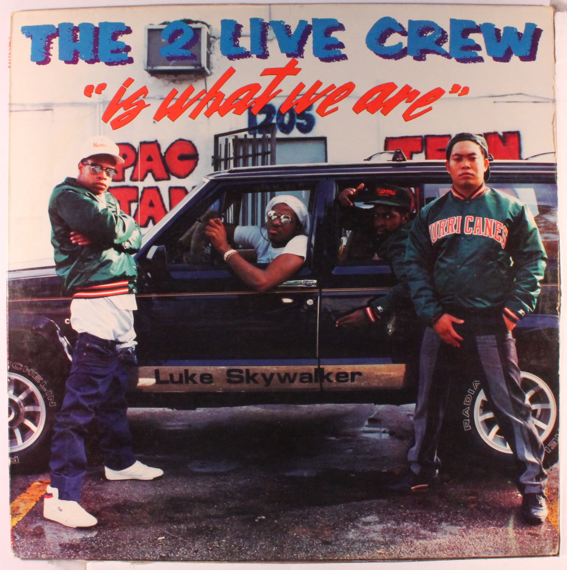 The cover of the album with the song about the rat and the cheese, with original 2 Live leader Luther Campbell.