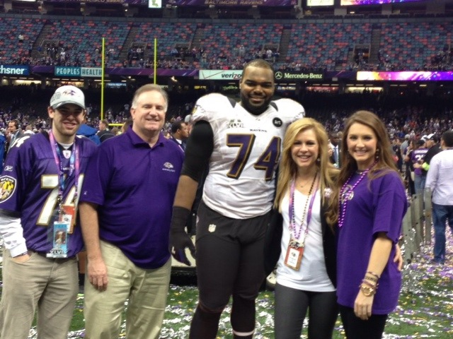 Sean Tuohy Jr And Michael Oher