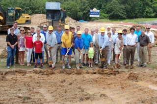 Groundbreaking For Ohs Synthetic Turf Campaign Is
