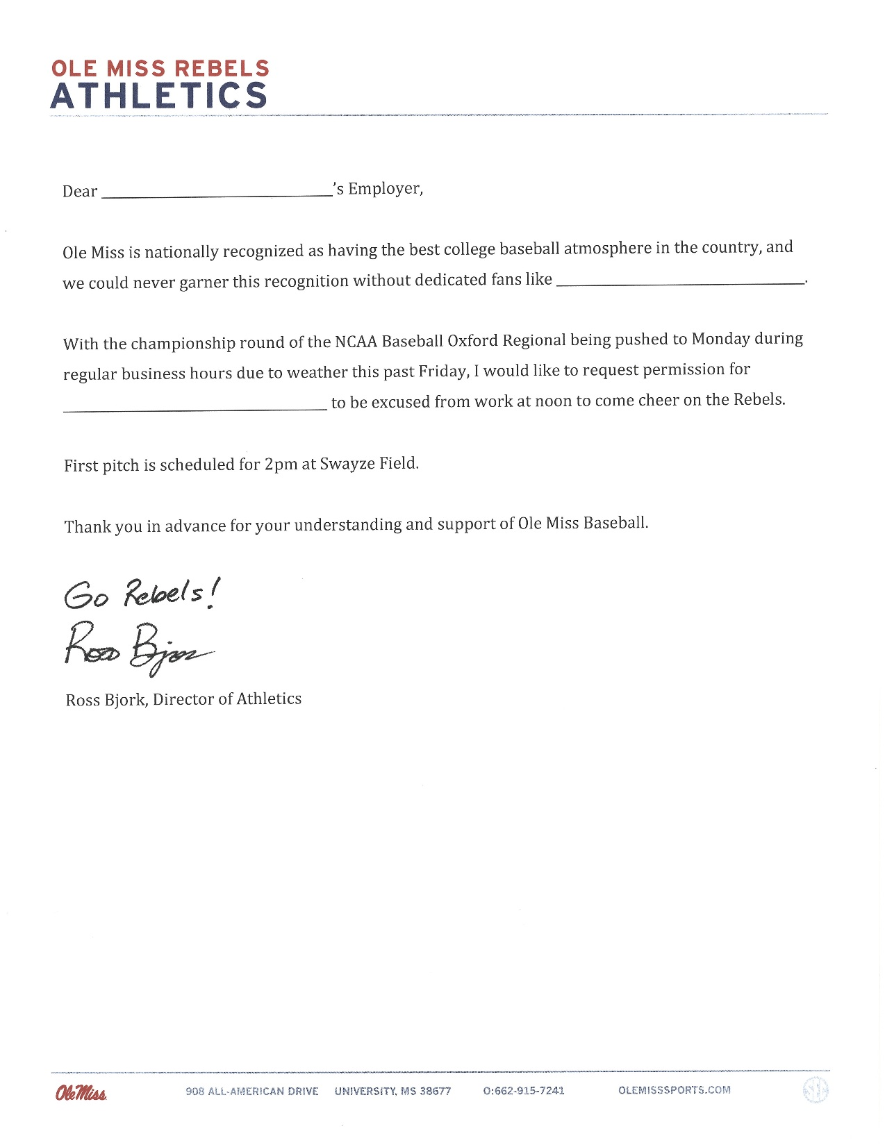 excuse letter for school ad bjork gives everyone an excuse to attend regional 46362
