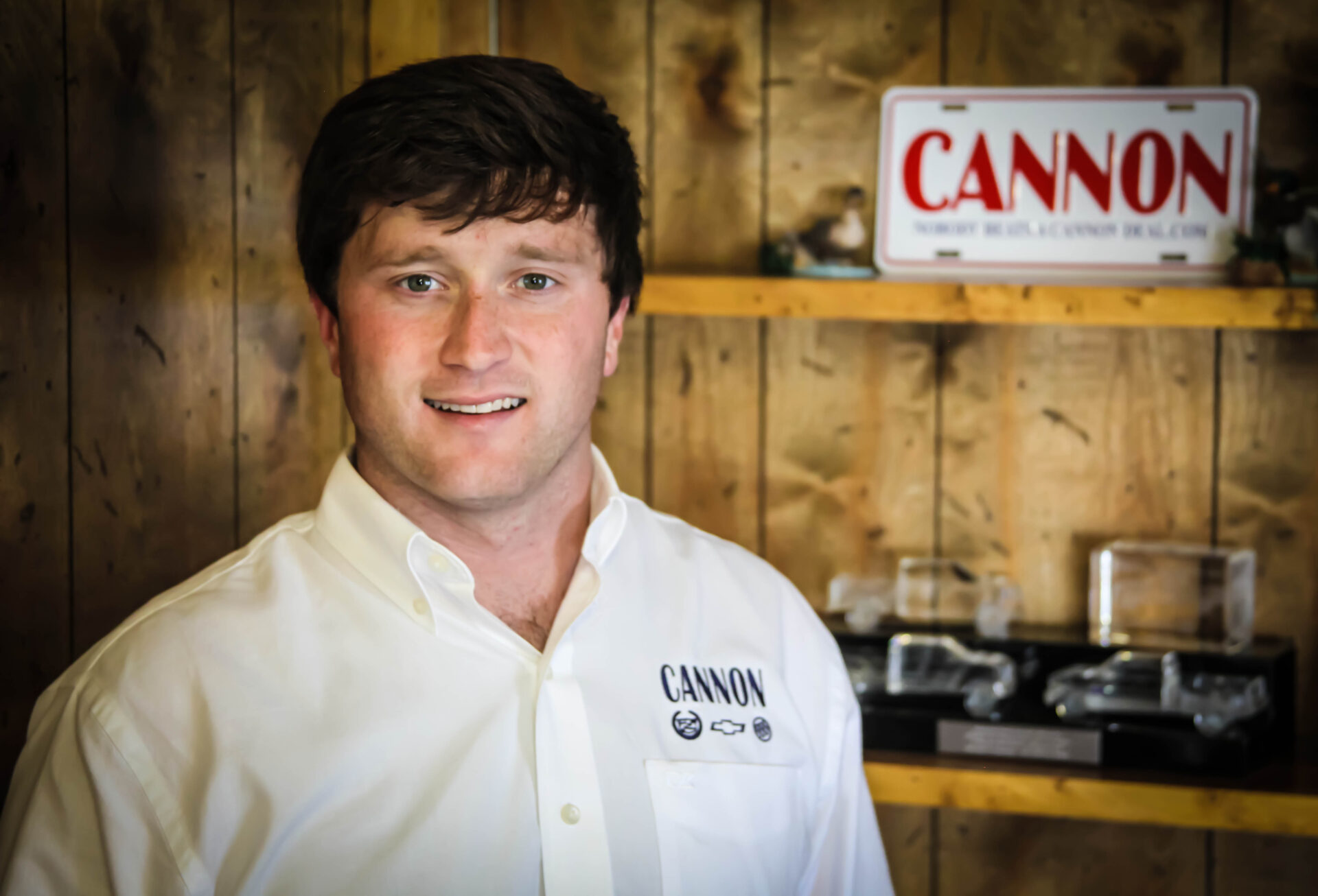 Tyler cannon continues family legacy at cannon ford for Cannon motors cleveland ms