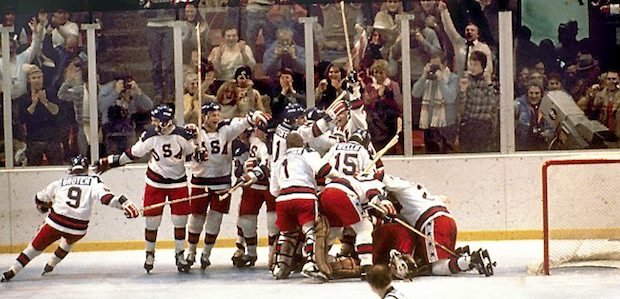 USA Wins Against Soviet Union in Ice Hockey