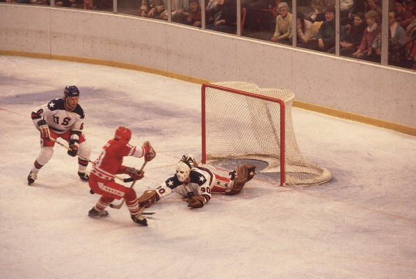 USA Goalie Jim Craig, 1980 Winter Olympics