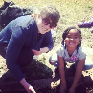 Sunny Young works closely with teachers and students to improve the district's health.