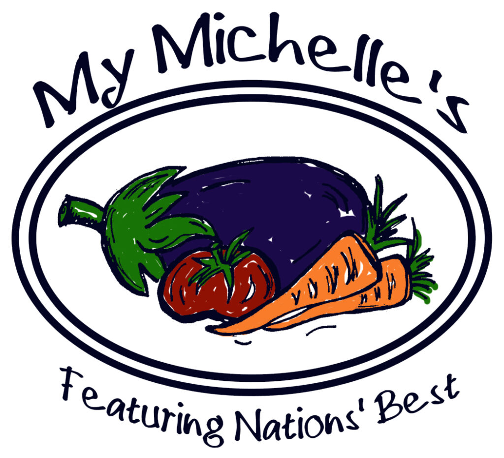 My Michelle's Color Logo - White Background