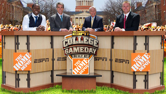 ESPN's College GameDay Coming to Oxford, Mississippi ...