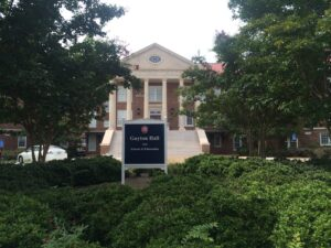 The University of Mississippi School of Education is housed in Guyton Hall.