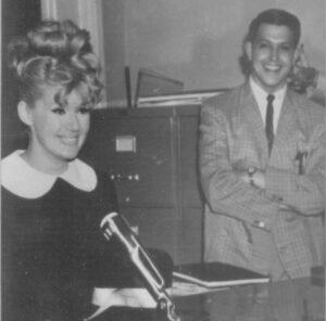 Ellis Nassour with Julia London back in 1960s.