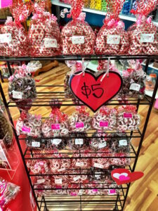 Holli's Sweet Tooth has customizable bags of candy as well as pre-made Valentine's Day-themed treats. Photos by Margaretta Carter