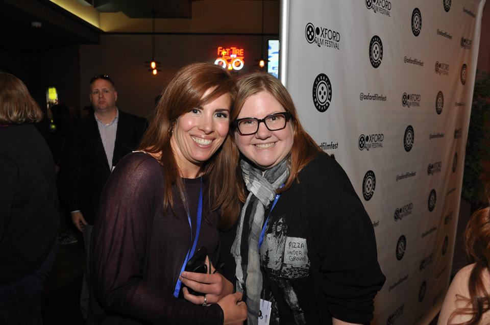Molly Fergusson and Melanie Addington
