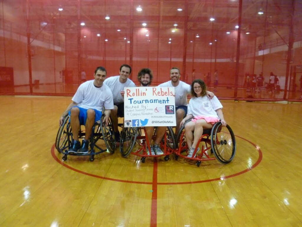 The champions of Rollin' Rebel Wheelchair Basketball Tournament: Chair Jordans (courtesy)