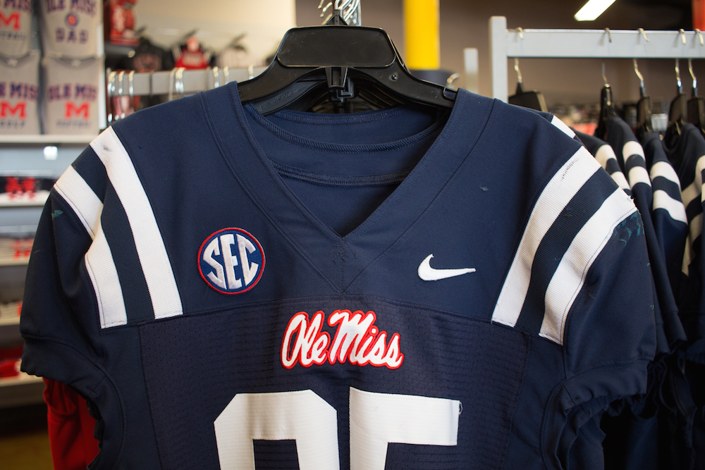 reputable site 7f78d 962a7 Ole Miss Official Gear Unlocked at Rebel Locker Room ...