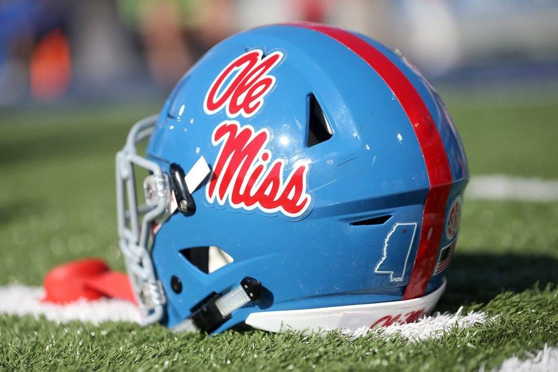Image result for ole miss football helmets