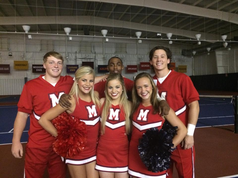 Ole Miss Cheerleader Pictures
