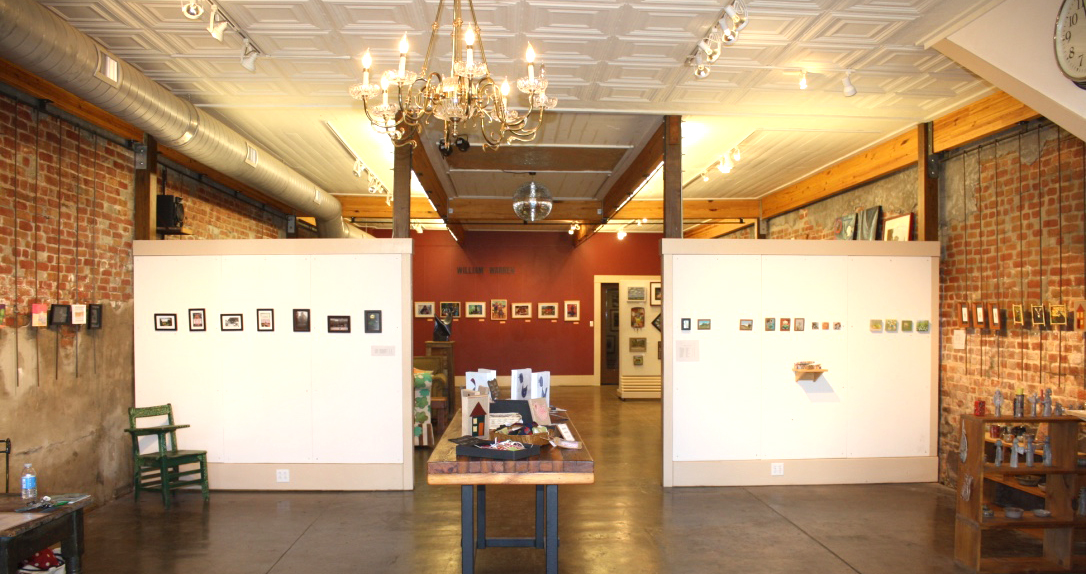 Bozarts Gallery is located at 403 North Main Street in Water Valley. Photo by Jeff McVay
