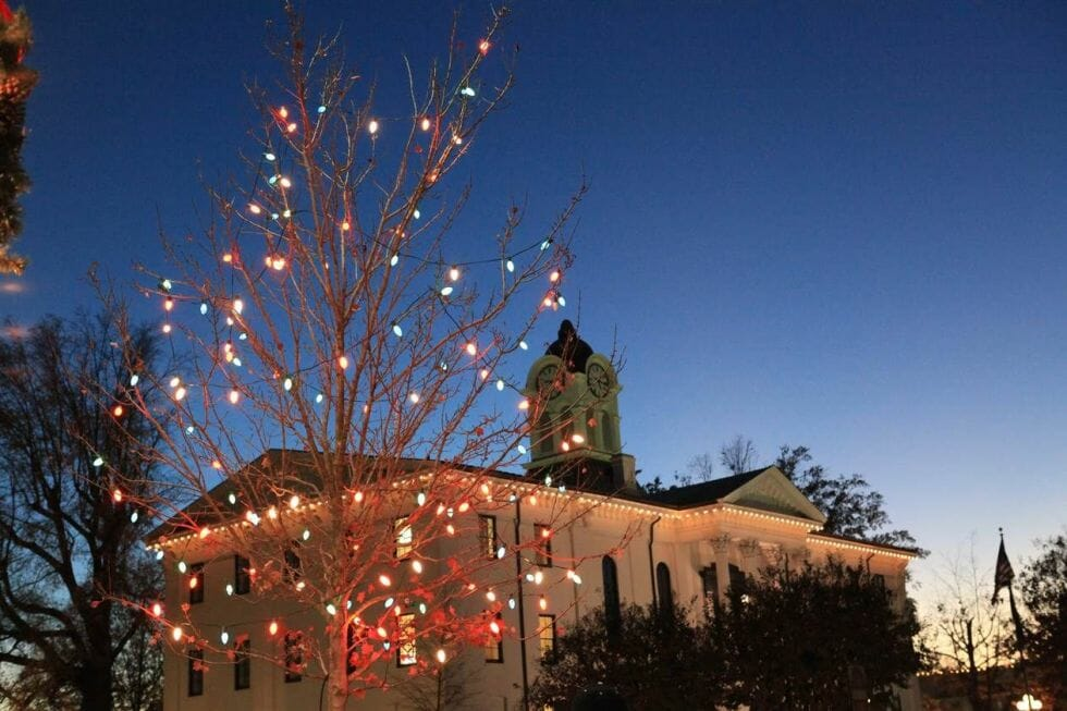 photo courtesy oxford ms tourism board - Small Town Christmas