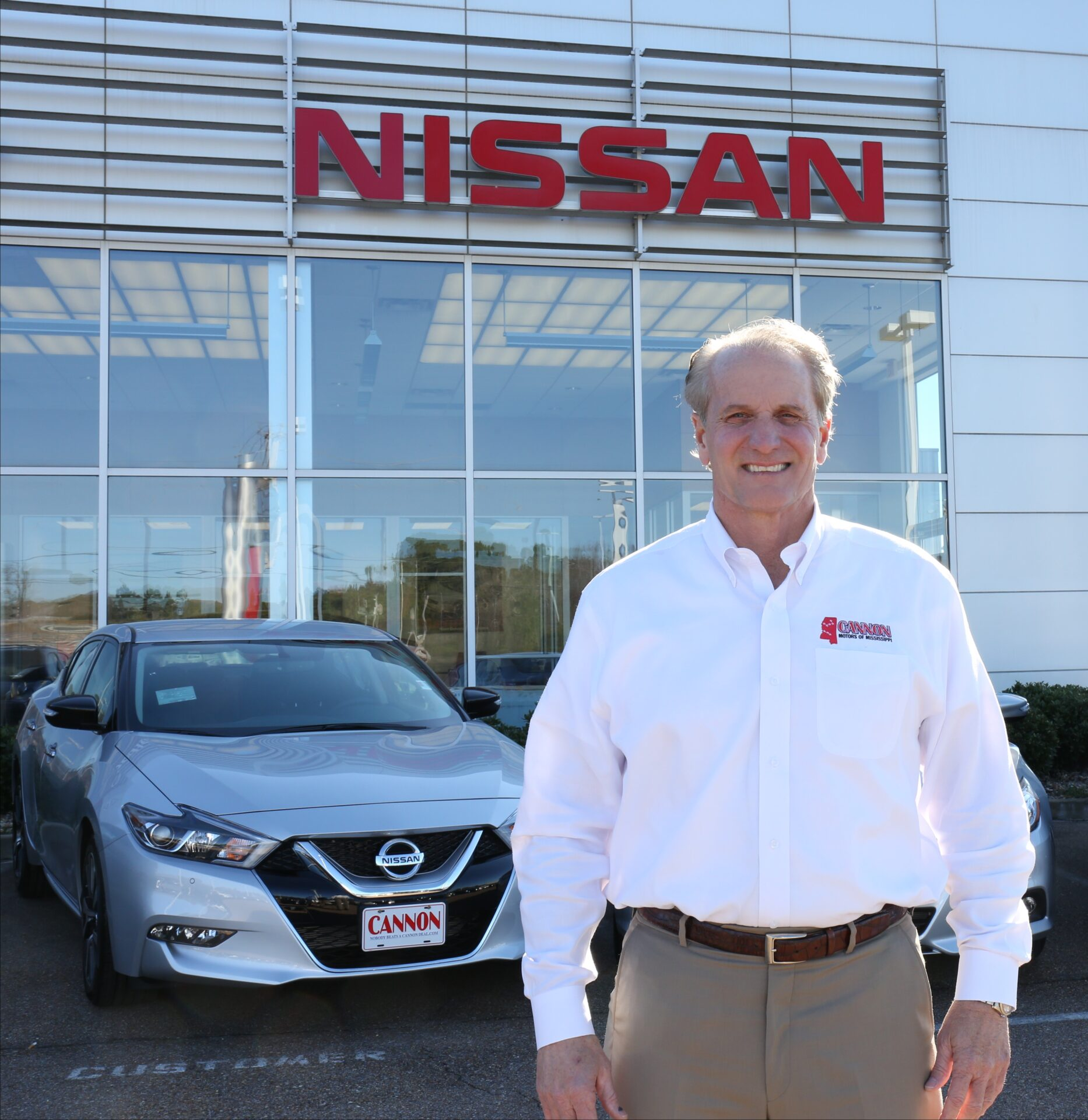 Cannon motors of mississippi acquires chandler nissan in for Cannon motor company jackson ms