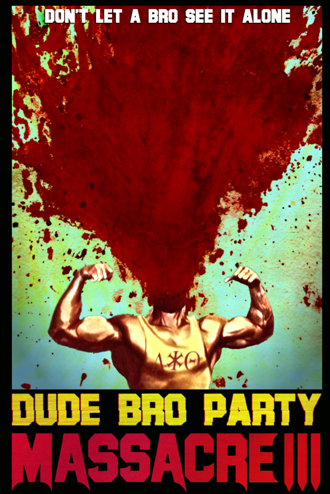Tomm Jacobsen, Michael Rousselet and Jon Salmon's comedy Dude Bro Party Massacre III