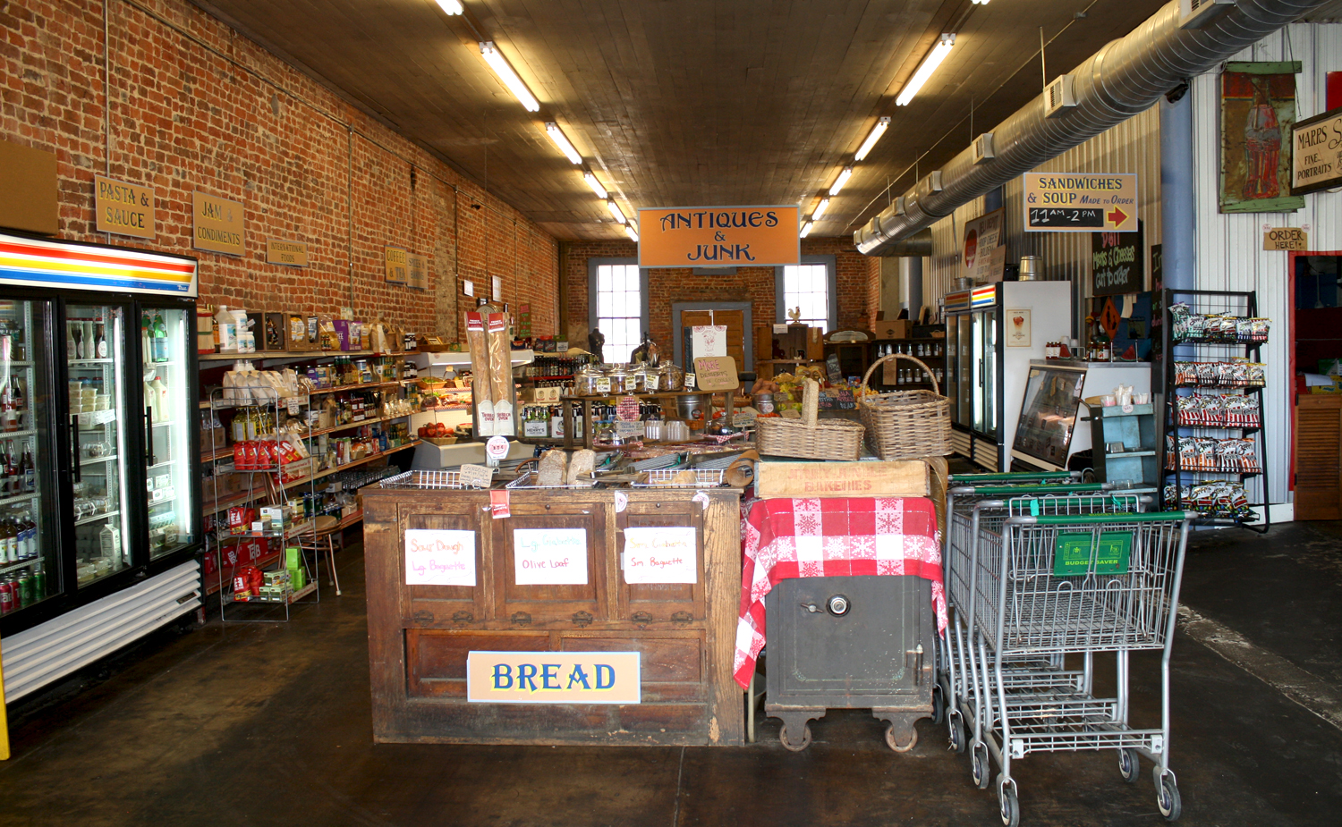 B.T.C. Old Fashioned Grocery in Water Valley. Photo by Jeff McVay