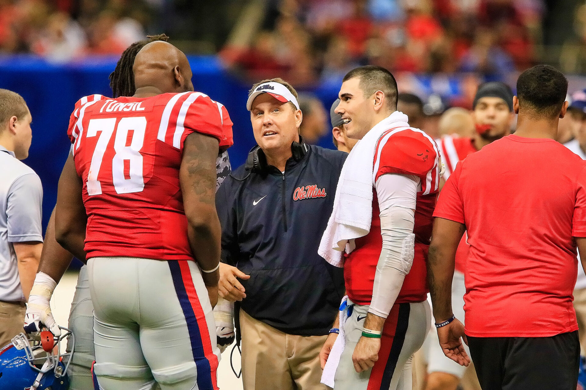 Laremy Tunsil Declares for NFL HottyToddy