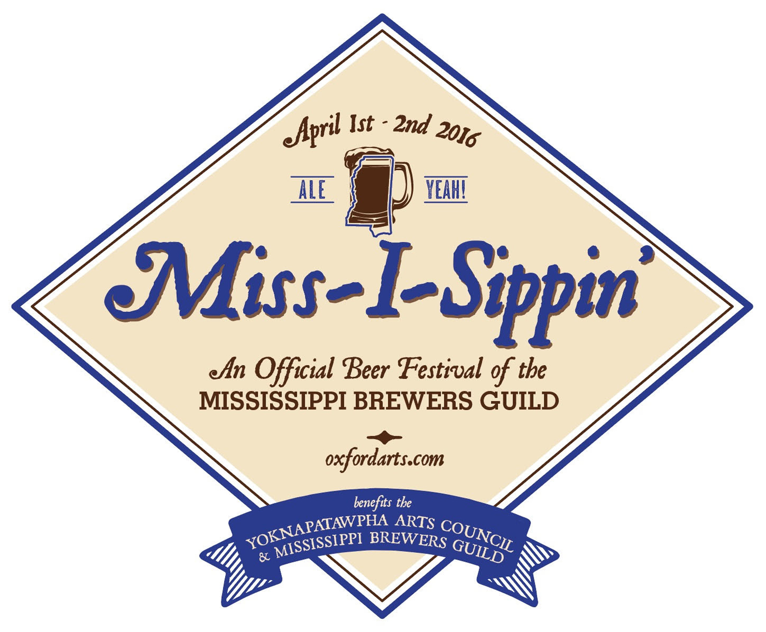 yoknapatawpha arts council to host miss i sippin craft beer