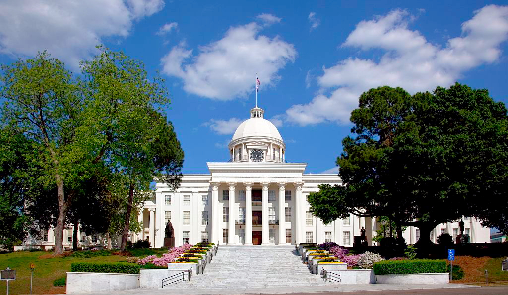 Eighth Most Beautiful State Capitol Building Montgomery