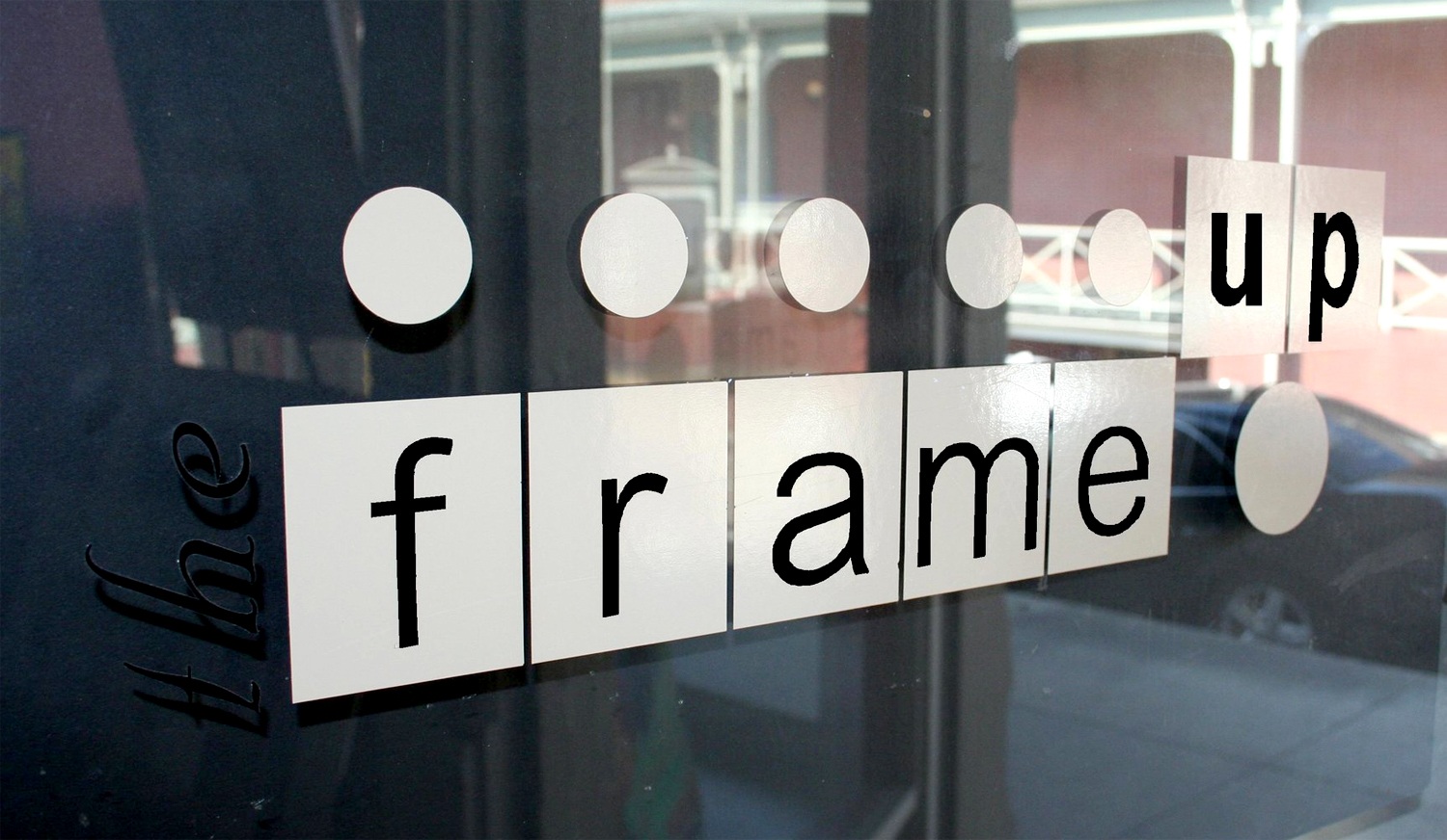 The Frame Up/Basement Gallery is located at 125 Courthouse Square. Photo courtesy of The Frame Up/Basement Gallery/Facebook