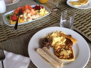 Costa Rican breakfast fare