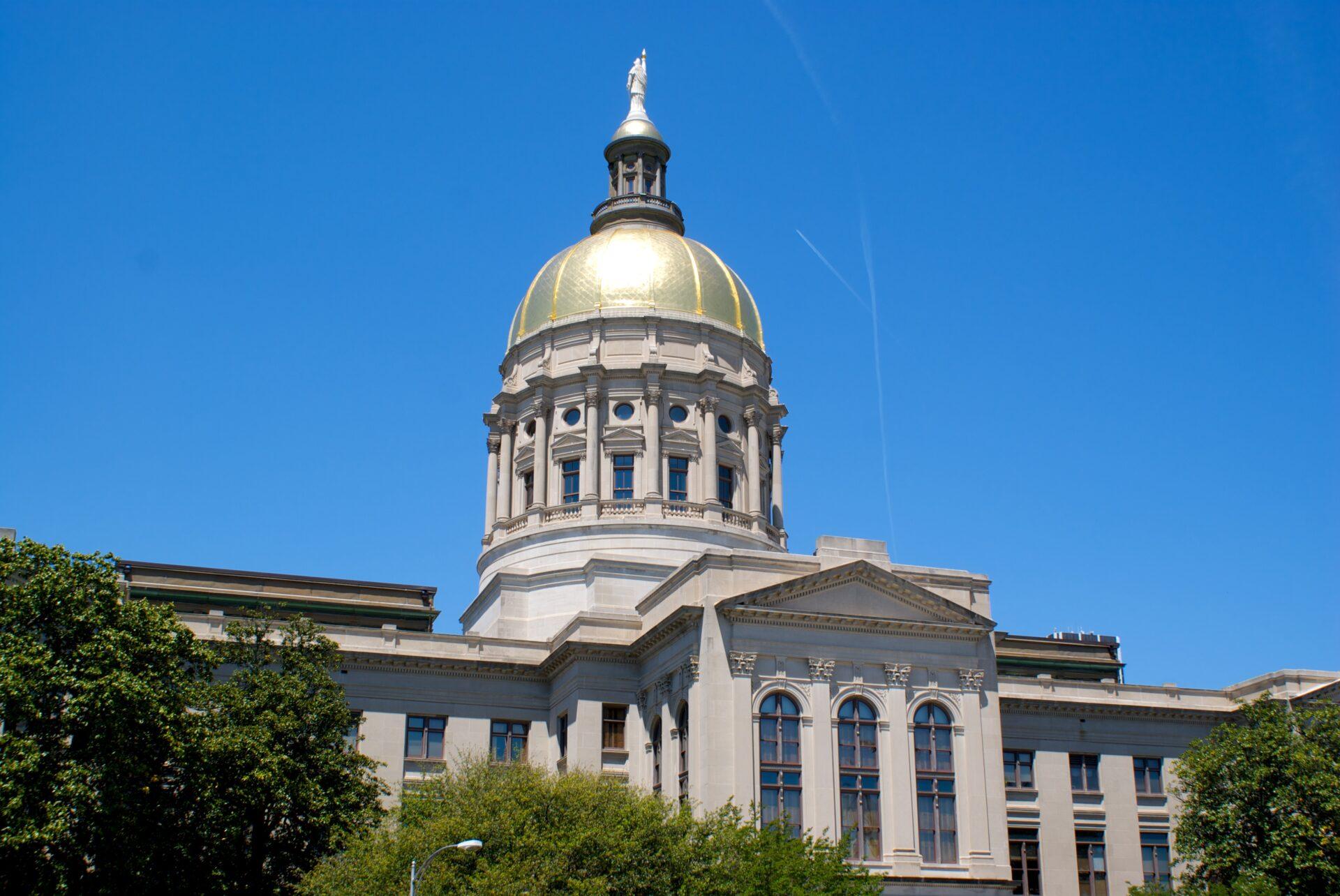 Third most beautiful state capitol building atlanta for Builders in georgia