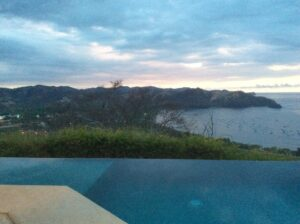 View from resort in Costa Rica