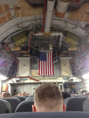 Airbus A400 returning home from Afghanistan. (Courtesy of Geoff Lynch)