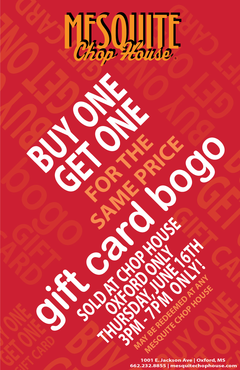 Eatingoxford Bogo Gift Cards In Time For Father S Day