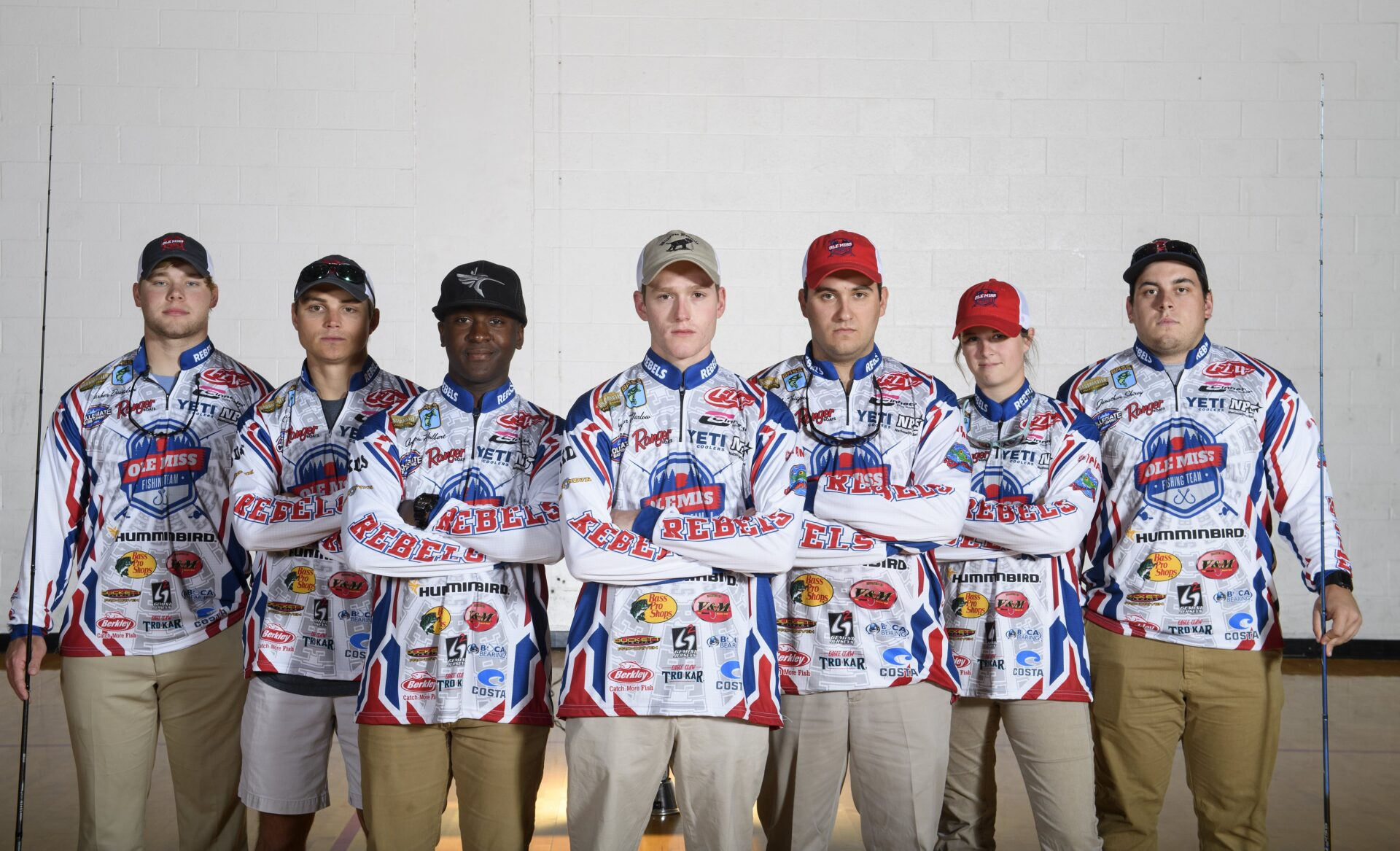 Ole miss fishing club grows to 30 members since 2010 for Fishing team names