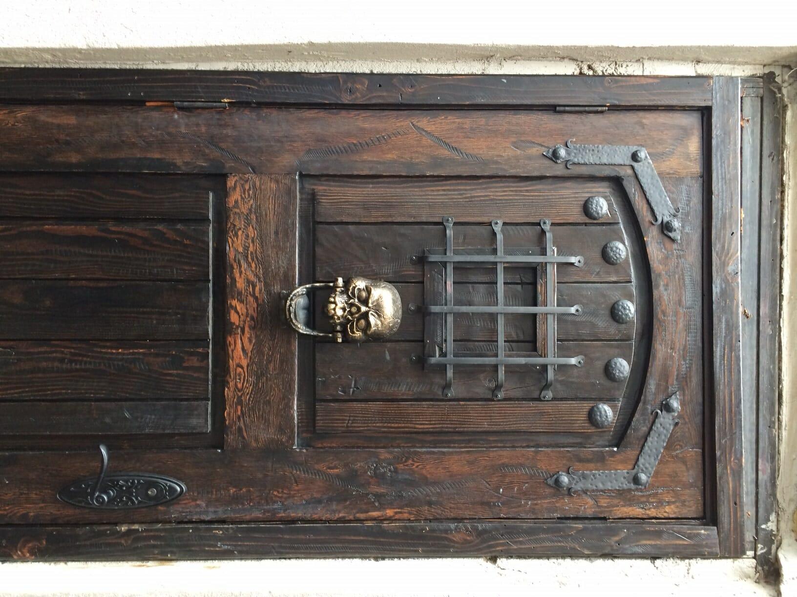 Delicieux The Door Of DownStairs Bar.