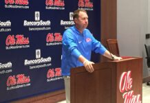 Coach Hugh Freeze