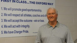 OHS Athletics' director Mike Martin