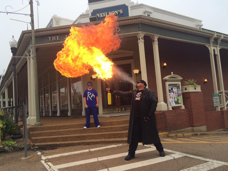Firemax is about a superhero who saves people in Oxford.