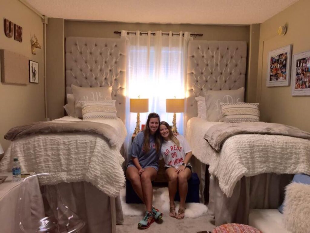 College Girl Room Ideas: Posh Ole Miss Dorms: Over-the-Top Or Fabulous